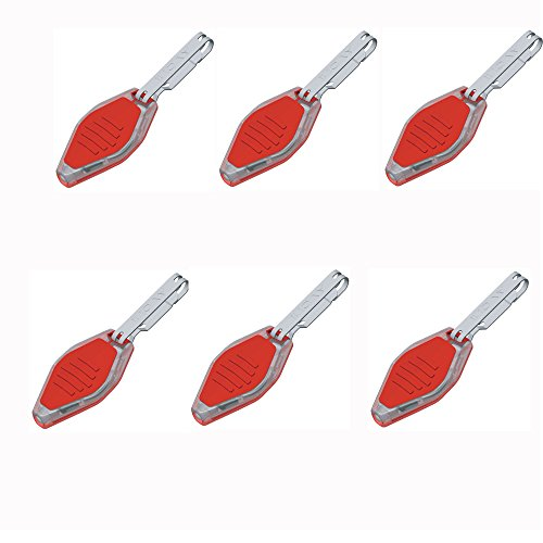 Microlight - Clear Body/Night Vision Red LED, 6 Pk - ()