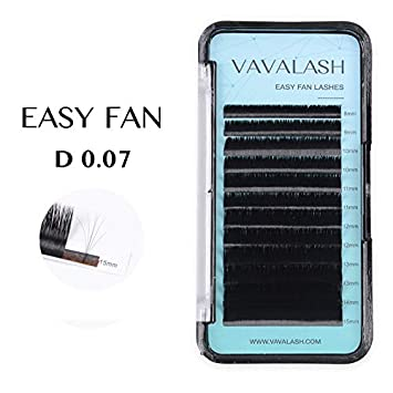 Eyelash Extension Supplies D Curl 0 07 Rapid Volume Lash Extensions Easy  Fan Automatic Blooming