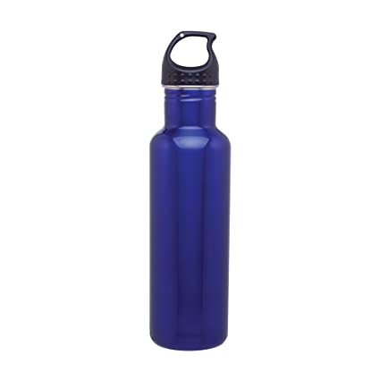 e130443748d Amazon.com  Stainless Steel Water Bottle Canteen - 24oz. Capacity - Blue   Sports   Outdoors