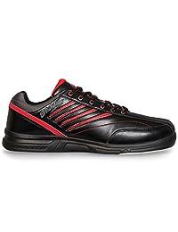 KR Strikeforce M-038-105 Crossfire Lite Bowling Shoes, Black/Red, Size 10.5