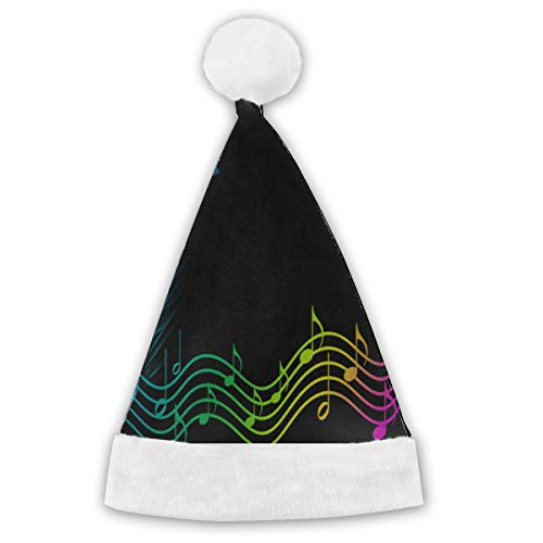Christmas Hat Rainbow Music Spectrum Pinterest Customized Santa