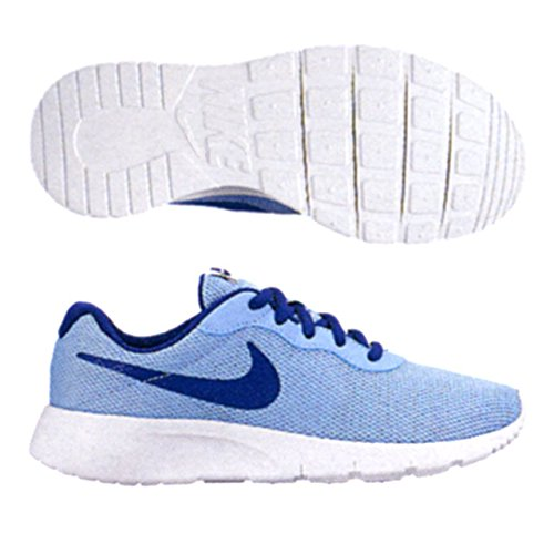 NIKE KIDS TANJUN (GS) BLUECAP DEEP ROYAL BLUE WHITE SIZE 4