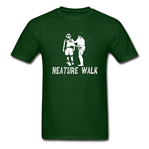 Spreadshirt Lenny Pepperbottom & Rodney Neature Walk Men's T-Shirt, L, Forest (Rodney Tee Shirt)