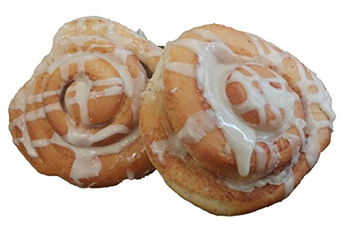 Organic Bread of Heaven ~ Cinnamon Rolls - 2 pkg of 2 ~ USDA Organic (Best Cinnamon Roll E Juice)