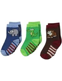 Baby-Boys Newborn Safari Pick-A-Mix Sock 3 Pairs