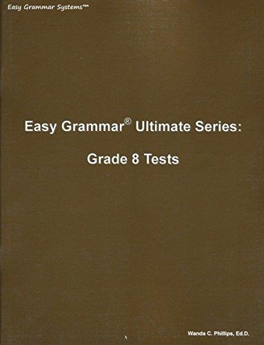 Easy Grammar Ultimate Series: Grade 8