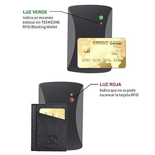 9 Cartes 02 Pour Portefeuille Emplacements De noir 347 Noir Bancaire Femme Carte Porte Credit Rfid Homme Teemzone agq1zgY