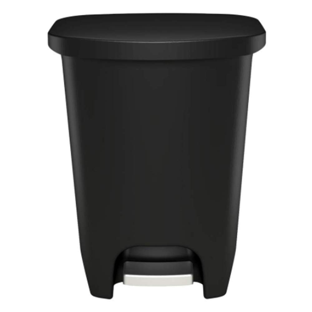 WHH Trash can, Extra Capacity Plastic Step Trash Can with Clorox Odor Protection (20 Gallon 75 Liter) by WHH