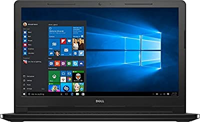 Dell Inspiron I3558-0954BLK Laptop 15.6-Inch Laptop (Intel Core i3-5005U 2 GHz ,6GB, 1TB Hard Drive Intel HD Graphics 5500, Windows 10 Home 64-bit), Black