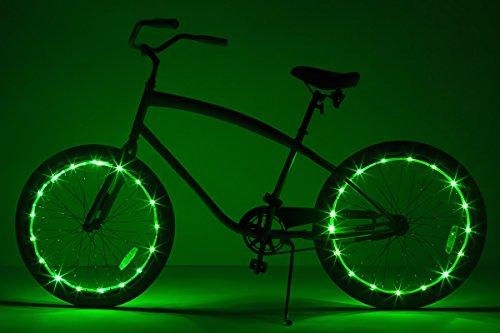Brightz WheelBrightz LED Bicycle Wheel Accessory Light (2-Pack Bundle for 2 Tires), -