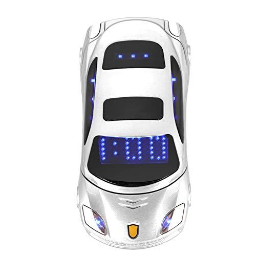 Sports Car Model F15 Mini Flip Phone for Ferrari Car-Shape Phone Flip Mobile Phone Dual SIM Card Phone For Kid, Support…