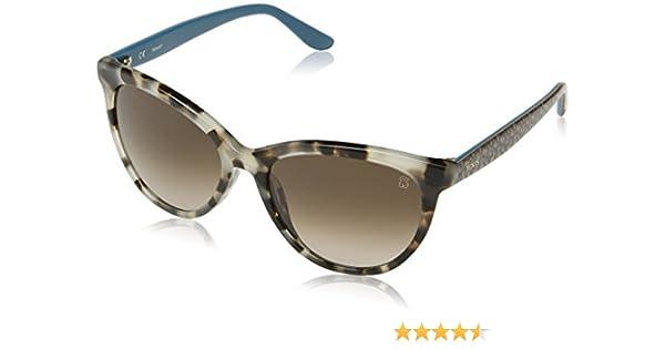 Tous Mujer STOA03 Gafas de sol, Beige (Shiny Feather Havana)