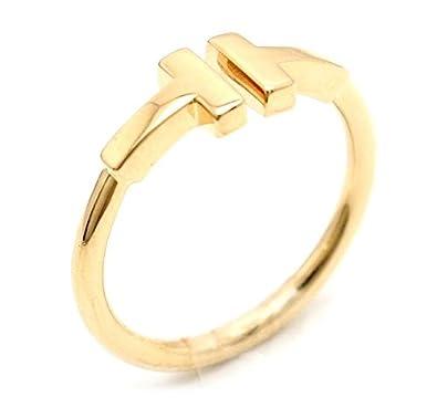 outlet store f1b7b a5e5d Amazon   [ティファニー] TIFFANY&Co. T ワイヤー リング 指輪 ...
