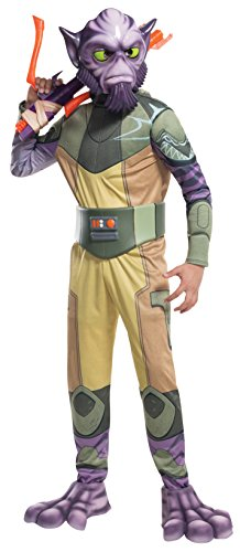 Rubie's Costume Star Wars Rebels Zeb Deluxe Child Costume, (Party Costume Ideas Beginning S)