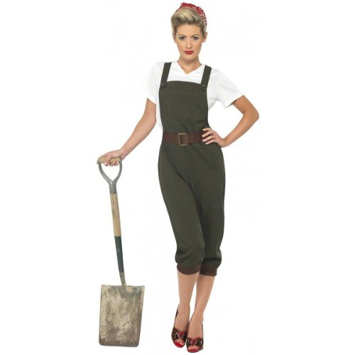 WW2 Land Girl Costume Small