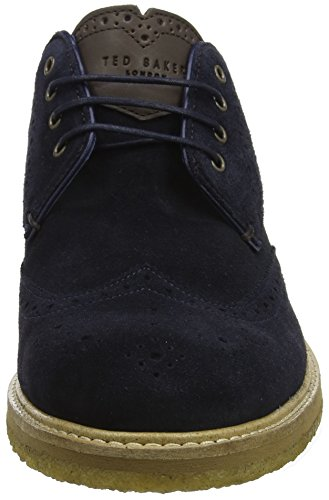 Ted Baker Prycces, Scarpe Stringate Oxford Uomo Blu (Dark Blue #0000ff)