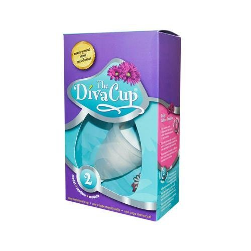 2 Packs of Divacup Model 2 Post Childbirth - 1 Cup