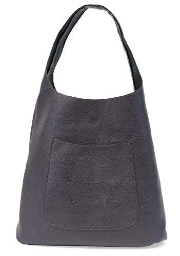 Joy Susan Molly Slouchy Hobo Handbag (One Size, Metallic Blue)