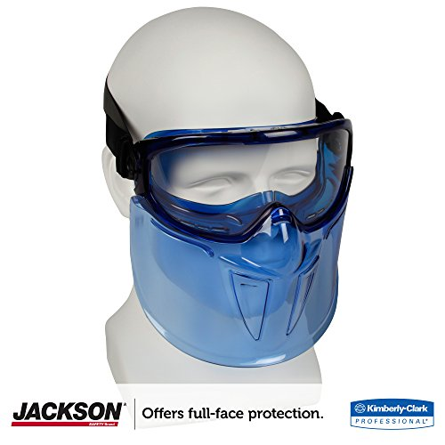 Jackson Safety V90 The Shield Quot Safety Goggles With Face