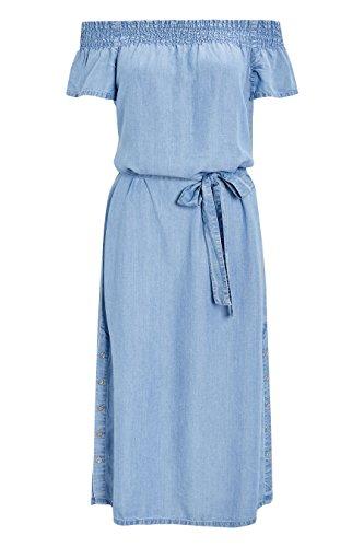 Blau next Damen Langgröße Schulterfreies Kleid Pqw0PvB