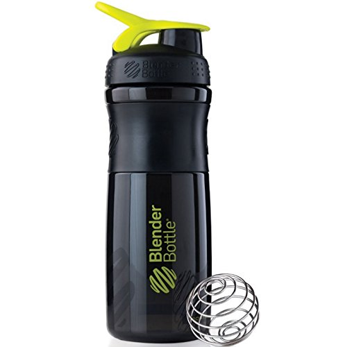 Blender Bottle Sport Mixer Protein Shaker Cup 28 oz BlenderBottle Sport - Black/ Grren (Blender Bottle Sport Mixer Aqua compare prices)