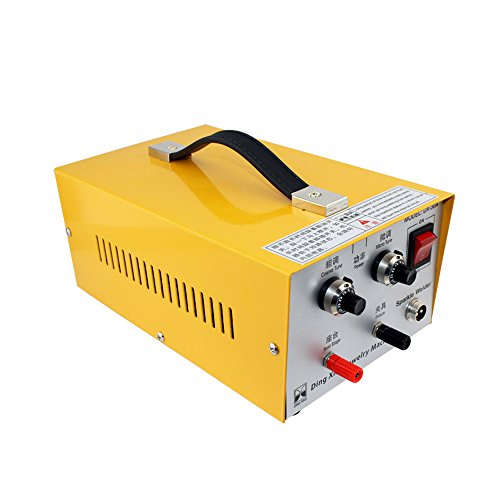 Amazon.com: HUKOER 2 in 1 Pulse Sparkle Spot Welder 110V, Pulse-Electric Gold Silver Platinum High-Grade Steel Jewelry Welding Machine 80A Moulding Tools