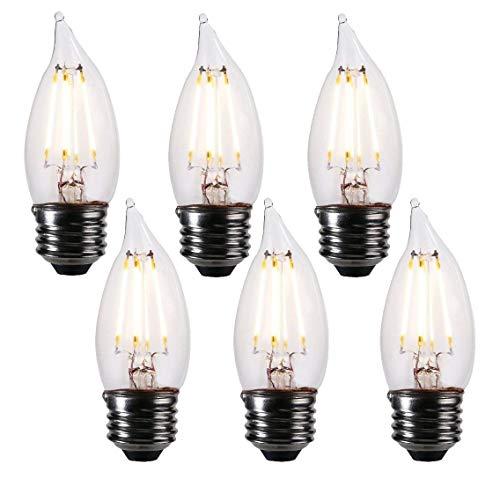 medium base candelabra bulb led
