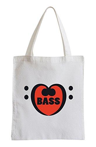 Amore Bass Fun sacchetto di iuta