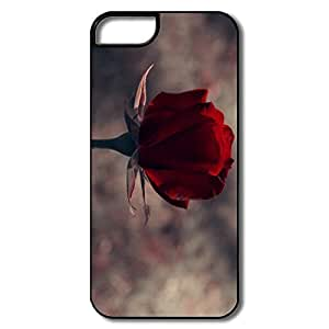 For Iphone 5/5S Case Covers, Rose White/black Cases For Iphone 5/5S Case Cover