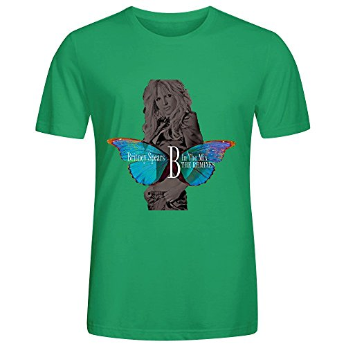 Britney Spears B In The Mix The Remixes Volume 2 Adult Men Tees (Rockabilly Halloween Mix)