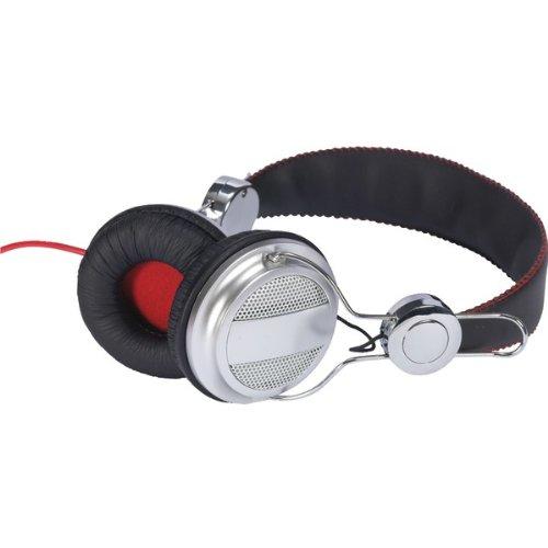 RCA HP5043 Ampz On-Ear Headphones - Gray/Black