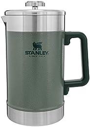 Stanley Prensa francesa de 1,4 l com isolamento duplo à vácuo, prensa de café de boca larga de aço inoxidável,
