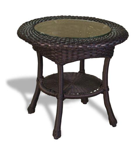 Tortuga Outdoor Garden Patio Lexington Side Table - - Club Tortuga Lexington Chair
