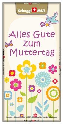 Grusskarte & Schweizer Premium Schokolade, Muttertagskarte - Muttertag