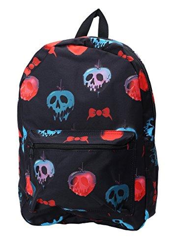 Bioworld Merchandising Snow White Apple Death Backpack Standard (Snow White Apple Bag)