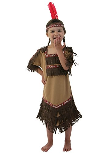 [Fun Costumes Indian Maiden Costume 4t] (Toddler Indian Costumes)
