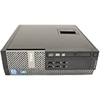 Dell Optiplex Business Desktop Computer PC (Intel Dual Core i3-2100 3.1GHz CPU, 8GB DDR3 Memory, 2TB HDD, DVD, VGA, RJ45, Displayport, Windows 10 Professional) (Certified Refurbished)