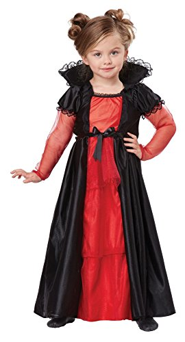 [California Costumes Vampire Girl Costume, One Color, 4-6] (Toddler Vampire Halloween Costumes)
