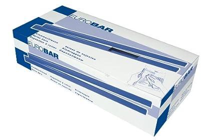 Durable - Dorsi per rilegatura Eurobar da 15 mm, confezione da 25 pezzi, colore: nero 306201