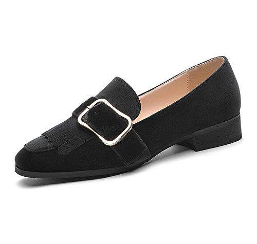 37 El Con Luz De Calzado Planos Nueva Solo KHSKX Stream Solo 36 Low Like Y Mujer Zapatos Puerto Black Casual Primavera De Zapatos BxXRxd