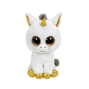 "Amazon.com: Ty Beanie Boo Buddy 9"" Plush Pegasus The Unicorn: Toys"