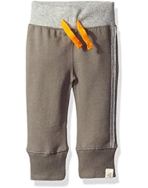 Boys' Organic French Terry Cuff Pant
