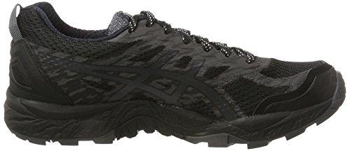 Asics Women's Gel-Fujitrabuco 5 G-Tx Trail Running Shoes Black (Black/Dark Steel/Silver 9095) hhwKdJ
