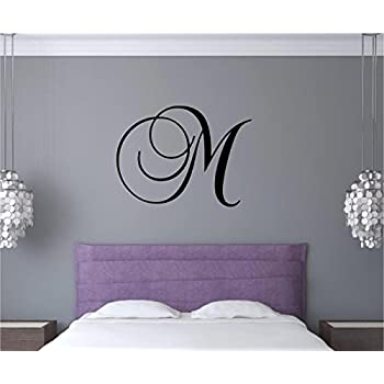 Amazoncom Large Letter Vinyl Wall Art Decal Stickers Decor - Custom vinyl wall lettering decals