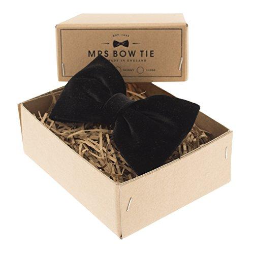 Black Velvet Bow Tie (Black Velvet Bow Tie)