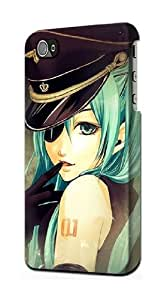 S1156 Vocaloid Sexy Hatsune Miku Police Case Cover For IPHONE 5C