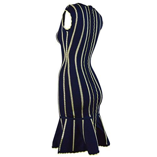 Damen HLBCBG 36 schwarz schwarz Kleid URrqTvUa