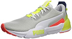 The all new cell phase takes PUMA's cell technology and uses it in a previously unseen way. The tooling features a comfortable eva with bold branding shown on the lateral forefoot. The heel features a sculpted, generously sized cell unit to p...