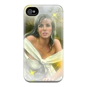 Tough Iphone FwqjljI5162VBBLf Case Cover/ Case For Iphone 4/4s(loveley Girl)