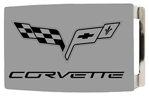 Chevrolet Automobile Company Matte Corvette Flags Rockstar Belt Buckle (Chevy Belt Buckle Rebel Flag compare prices)